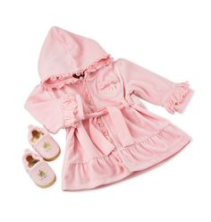 COUTURE BABY GIRL IMAGES | Juicy Couture Velour Robe & Slippers, Gia ($48-$78) (5 of 6)