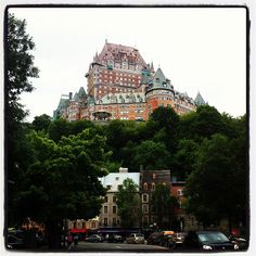 Visiting Quebec City. #chateaufrontenac #quebec #city #castle #oldquebec