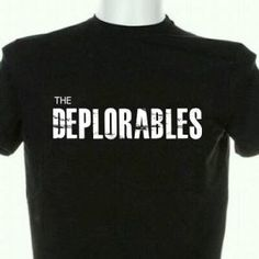 . Official 'The DEPLORABLES' swag --> Pick one up before they're gone.  http://www.lessgovmorefun.com/swag #Trump #Crooked