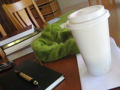 Knitting, books, tea - yup! :)