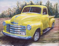Fabulous Old Yellow Truck