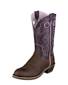 """Women's Heritage Roughstock 12"""" Boot  These are so pretty! I love them! Want these so bad!"""