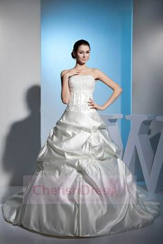wedding dress,wedding dresses,wedding dress,wedding dresses ball gown satin strapless natural waist cathedral train lace-up sleeveless beading lace pick-ups ivory wedding dress Wedding Dress 2013, Amazing Wedding Dress, Cheap Wedding Dress, Bridal Gowns, Wedding Gowns, Ivory Wedding, Weeding Dress, Applique Wedding Dress, Event Dresses