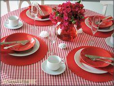 Uma mesa Para a Páscoa e...