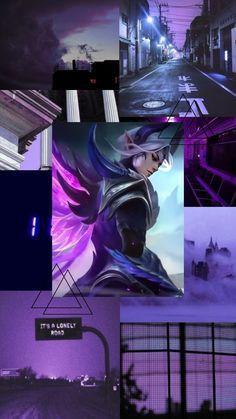 Black Aesthetic Wallpaper, Aesthetic Wallpapers, Otaku Anime, Anime Art, Bts Eyes, Slayer Anime, Mobile Legends, Jokes, Chistes
