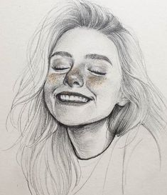 Image may contain: 1 person, drawing - kunst - Art Sketches Pencil Art Drawings, Cool Art Drawings, Realistic Drawings, Art Drawings Sketches, Easy Drawings, Portrait Sketches, Horse Drawings, Pencil Sketch Art, Hipster Drawings