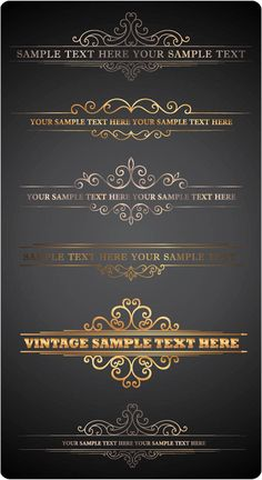 Ornate Letterhead Vector – Free Download