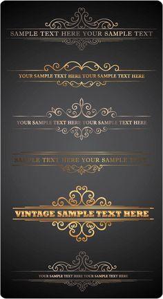 Ornate Letterhead Vector – Free Download