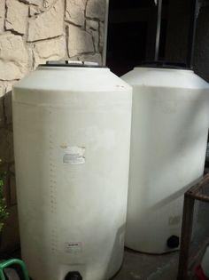 165 Gallon Upright Water Storage Tanks
