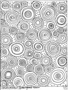 RUG-HOOK-PAPER-CRAFT-PATTERN-Circles-Abstract-FOLK-ART-ABSTRACT-PRIM-Karla-G