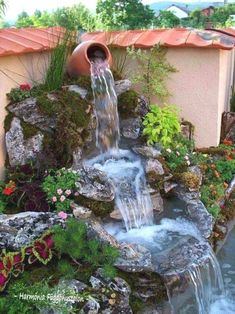 15 Garden Fountains And Water Ponds That Looks Like A Real Heaven   Top  Inspirations