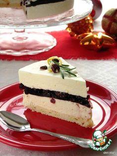 Торт-суфле с белым шоколадом и красным вином - кулинарный рецепт