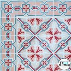 Encaustic Cement Tile - Montecristi