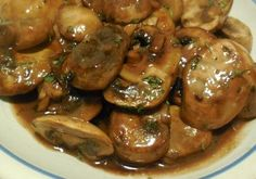 Printable Recipe – Sauteed Mushrooms in Teriyaki Sauce Mushrooms are one of my favorite vegetables. They are amazingly low in calories and can be prepared so many different ways. This recipe for Sauteed Mushrooms in Teriyaki Sauce is easy and…Read more → Vegetable Dishes, Vegetable Recipes, Vegetarian Recipes, Cooking Recipes, Healthy Recipes, Vegetable Drinks, Receta Salsa Teriyaki, Sauce Teriyaki, Greek Recipes