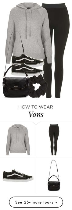 """Style #9840"" by vany-alvarado on Polyvore featuring Topshop, Vans, Kate Spade, women's clothing, women, female, woman, misses and juniors"