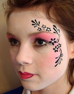 Face Painting Ideas, Designs & Pictures | Face Paint Ideas | Snazaroo. Simple ...