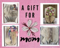 Your mom called, she said she wants a unique, handmade gift for Mother's Day this year.I've got you covered! Bookshelf Inspiration, Reading Pillow, Gifts For Your Mom, Book Folding, Handmade Items, Handmade Gifts, Book Crafts, Bookshelves, Book Lovers
