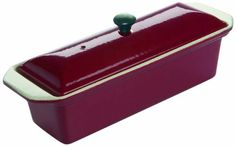 Le Chasseur 071076 Enameled Cast Iron Rectangular Terrine Fry Pan >>> Startling review available here  : Roasting Pans
