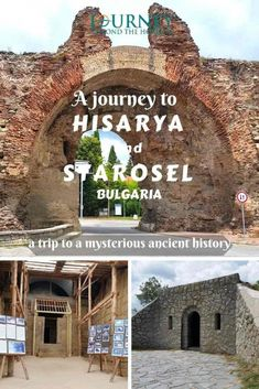 A JOURNEY TO HISARYA AND STAROSEL, BULGARIA- A TRIP TO A MYSTERIOUS ANCIENT HISTORY Ancient Tomb, Ancient Ruins, Ancient History, Roman Era, Roman City, Europe Travel Tips, Travel Destinations, Travel Around The World, Around The Worlds