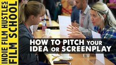"""How to Pitch Your Screenplay or Film Idea Pitching your screenplay idea to an investor, actor or studio executive is one of the toughest parts of being a storyteller. Many screenwriters and filmmakers freeze up when they go into """"the room"""". Paul Castro, writer of Warner Brother's August Rush (Starring Robin Williams) lays down some amazing… #FilmmakingTricks #FilmmakingTipsandIdeas"""