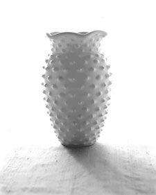 I love hobnail milk glass - it definitely makes me smile
