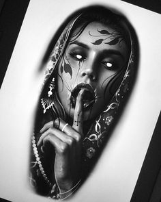 News - tattoo ideas tattoo drawings, tattoo designs und real Skull Tattoos, Body Art Tattoos, Sleeve Tattoos, Cool Tattoos, Horror Tattoos, Chicano Tattoos, Tattoo Sketches, Tattoo Drawings, Lace Tattoo