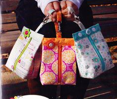 PATTERN - Suzy s Sack - cute little bag PATTERN - This