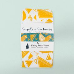 Stunning tea towels for http://instagram.com/hairypearpress - go check them out!