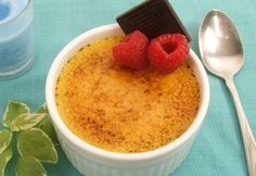 Simple, elegant dessert featuring SPCA Certified eggs and dairy. Trifle Pudding, Elegant Desserts, Creme Brulee, Recipe Using, Sweet Tooth, Deserts, Dessert Recipes, Food And Drink, Cooking Recipes