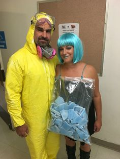 breaking bad couples costume diy - Halloween Costume Breaking Bad