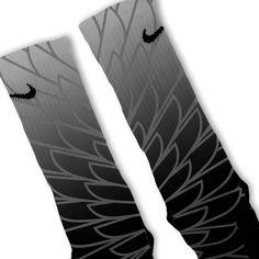 Wings 2 Custom Nike Elite Socks