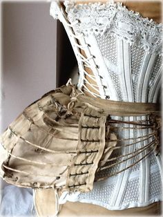 Corset and bustle