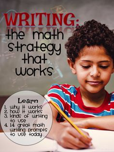Writing-The Math Strategy that Works