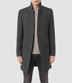 Mens Falun Coat (Charcoal) - product_image_alt_text_1