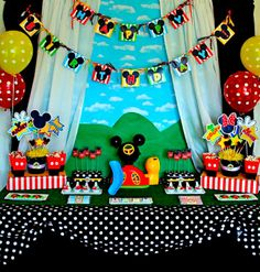 Mickey Mouse Party - Its always a party at the Parkers