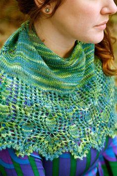 Belle Shawl Knitting Pattern