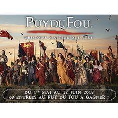Familiscope.fr et le Grand Parc du Puy du Fou vous proposent de gagner des entrées « Adulte » pour passer une excellente journée dans ce parc merveilleux.