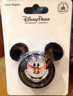 Disney Parks Mickey Mouse Clock Magnet