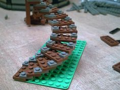 lego stairs - Google Search                                                                                                                                                                                 Plus