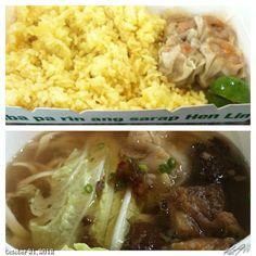 #ランチ #lunch at #henlin #shiomai#noodle#food#philippines#フィリピン