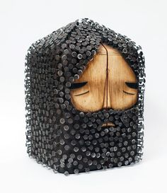Cuttytown: Sculptures by Jaime Molina   Faith is Torment   Art and Design Blog