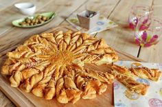 Recette soleil feuilleté au jambon et au fromage par Miele - Académie du Goût !