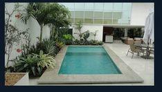 Resultado de imagem para cobertura com piscina