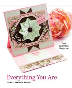 Everything You Are from the Spring 2015 issue of CardMaker Magazine. Order a digital copy here: https://www.anniescatalog.com/detail.html?code=AM5256