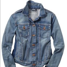 Gap denim Jean jacket Great denim  Jean jacket. Can easily be dressed up or down. Barely worn. Perfect wash. GAP Jackets & Coats Jean Jackets