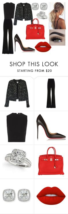 """""""Shelby"""" by mrstomlinson974 on Polyvore featuring Chanel, SemSem, Alexander McQueen, Christian Louboutin, Allurez, Hermès, Frederic Sage and Lime Crime"""
