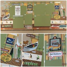 Carta Bella Great Outdoors Fishing Best site for page layout kits ever! And they have auto ship clubs! Check it out! www.scrapbookstation.com