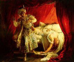 Alexandre-Marie Colin – Othello and Desdemona – 1829 – Private Collection