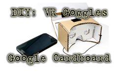 DIY: Mache deine eigenen (Oculus Rift) VR Brille (mit Google Cardboard) #vr #virtualreality #oculus #oculusrift #gearvr #htcvivve #projektmorpheus #cardboard #video #videos