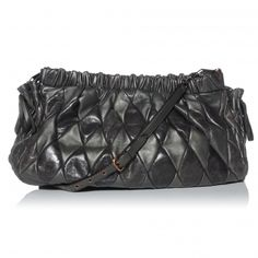 b579c517829 This is an authentic MIU MIU Vitello Patch Harlequin Shoulder Bag in Piombo.  This stylish